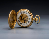 19C Gold fob watch