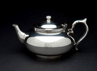 Robur silver plated teapot