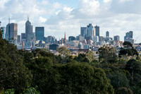 View of Melbourne from Kew in the inner east