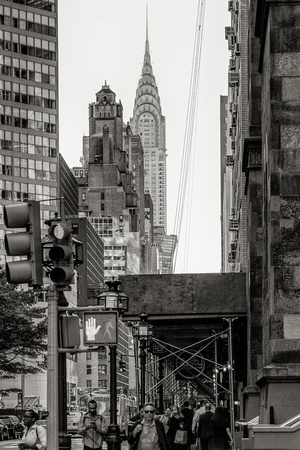 View towards the Chrysler Building