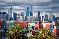View of Melbourne from Footscray